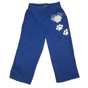 5/$25 🔴 Blue & White Paw Prints 🐾 Active Pants